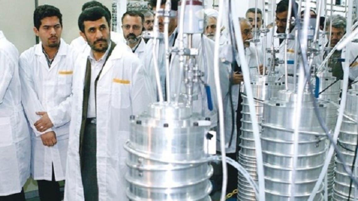Mahmoud Ahmadinejad visits the Natanz nuclear site. Tehran has more than 10,000 centrifuges enriching uranium at its main plant at Natanz, to fuel grade at below 4 percent. (Reuters)