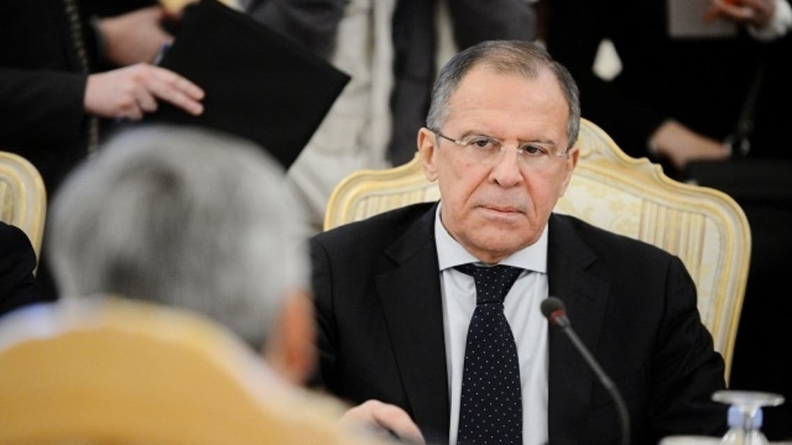 Russian Foreign Minister Sergei Lavrov has yet to meet with  U.S. Vice President Joe Biden on Russian intervention in Syria and support for President Bashar al-Assad.(AFP)