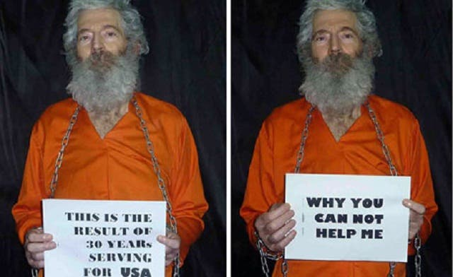 Robert Levinson went missing in Iran since 2007. (AFP)