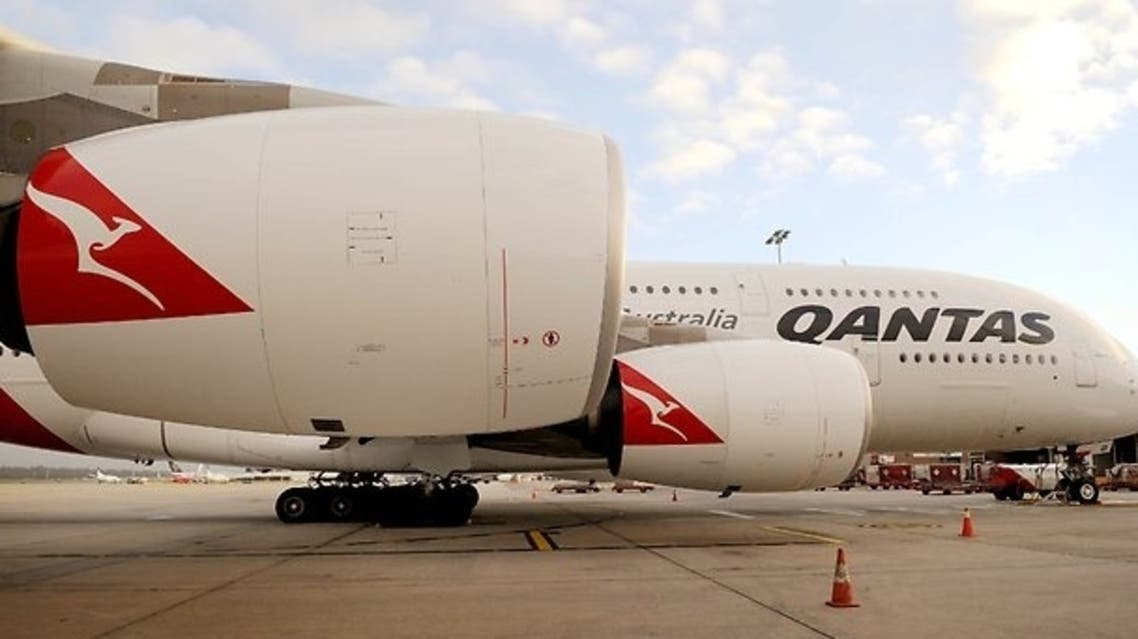 Australian airline Qantas denied any wrong after a report revealed a jumbo jet once owned by the carrier had ended up in Iran despite sanctions. (AFP)