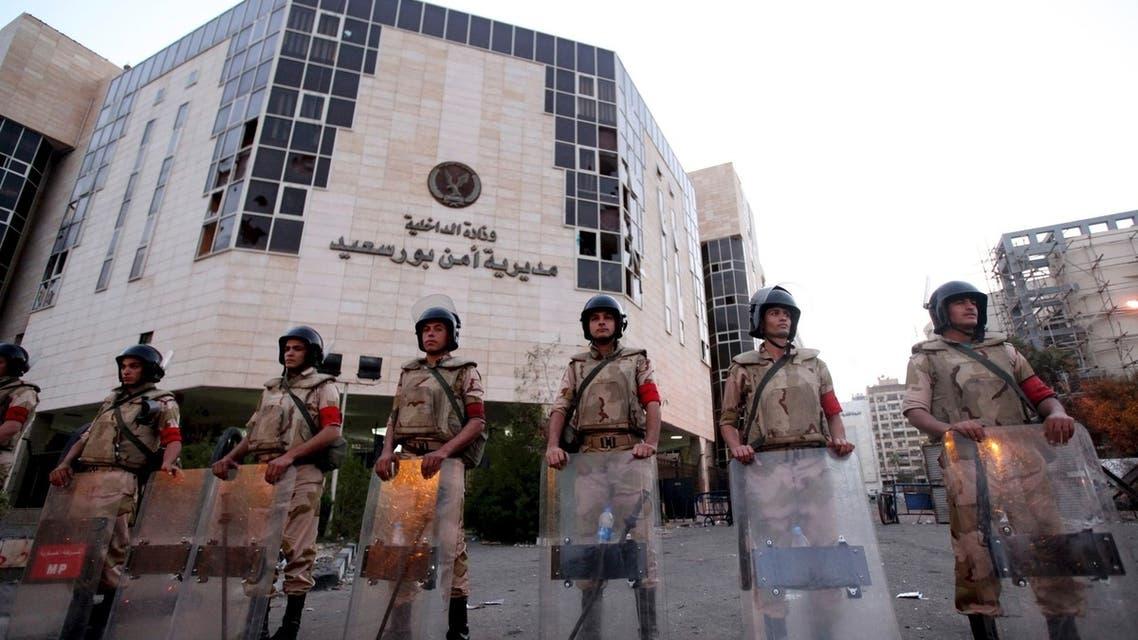 مقر وزارة الداخلية في مصر