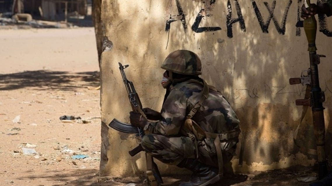 Fighting rages in Northern Mali after suicide bombs.(AFP)