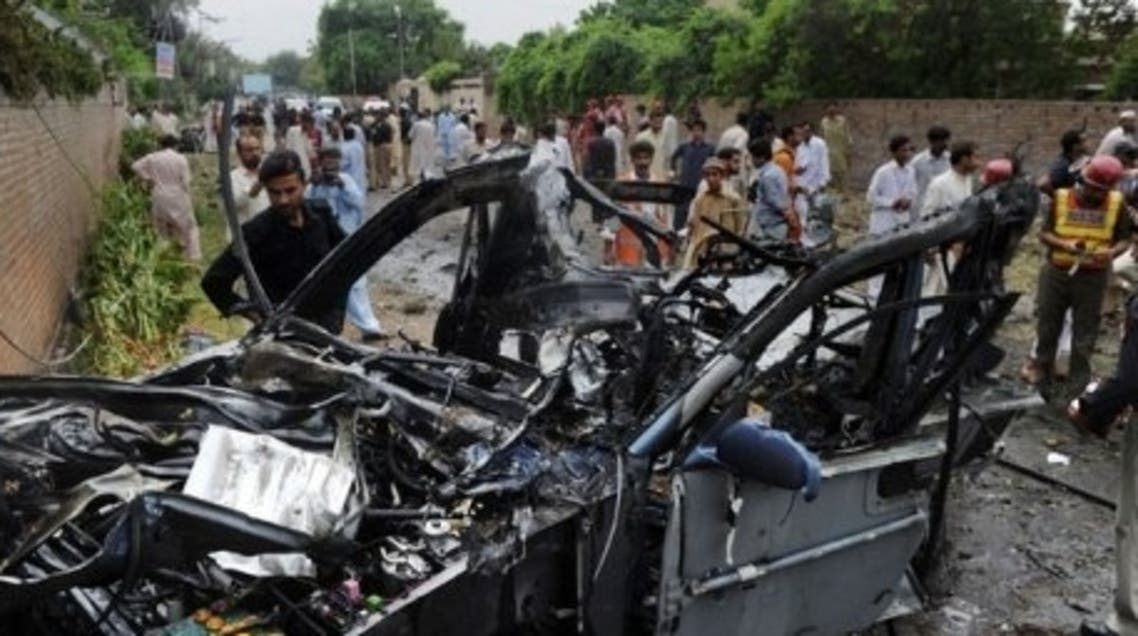 Peshawar is vulnerable to bomb blasts and Taliban attacks as it runs into the semi-autonomous tribal belt, considered a safe haven for Taliban, Al-Qaeda and other insurgents fighting both in Pakistan and across the border in Afghanistan. (AFP)