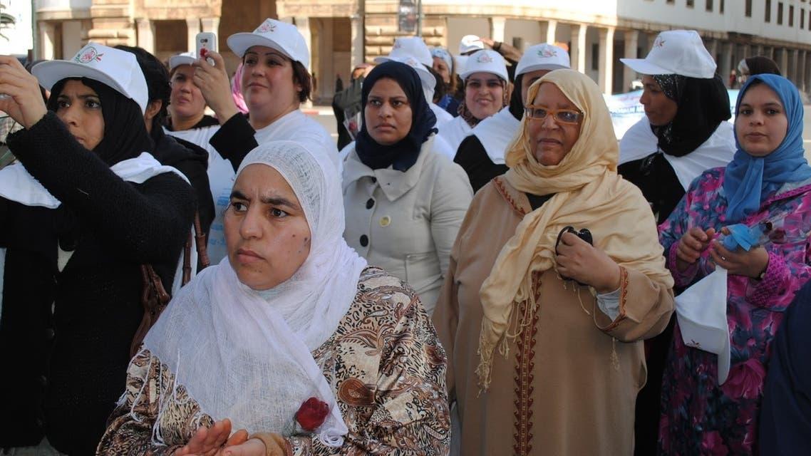 صورة لبعض النساء في المغرب