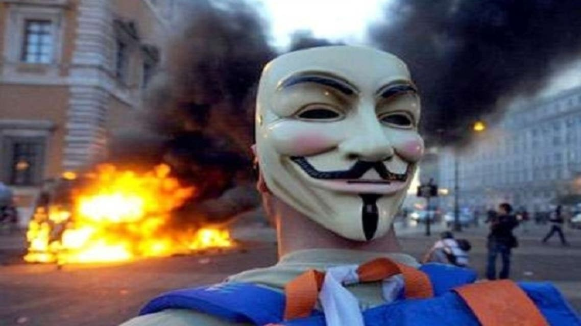 Bahrain bans the import of Guy Fawkes masks into the country as protestors use it to disguise themselves. (AFP)