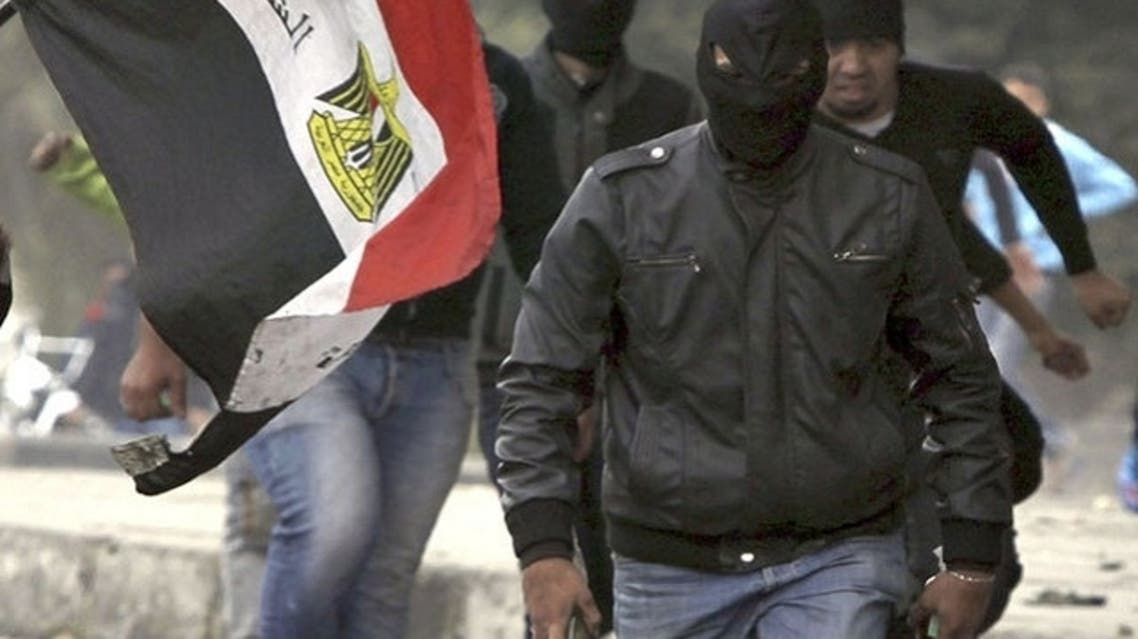"One person ""belonging to the Black Bloc organization was arrested inside a building overlooking Tahrir Square carrying Israeli plans to target petrol companies MENA reported. (Reuters)"