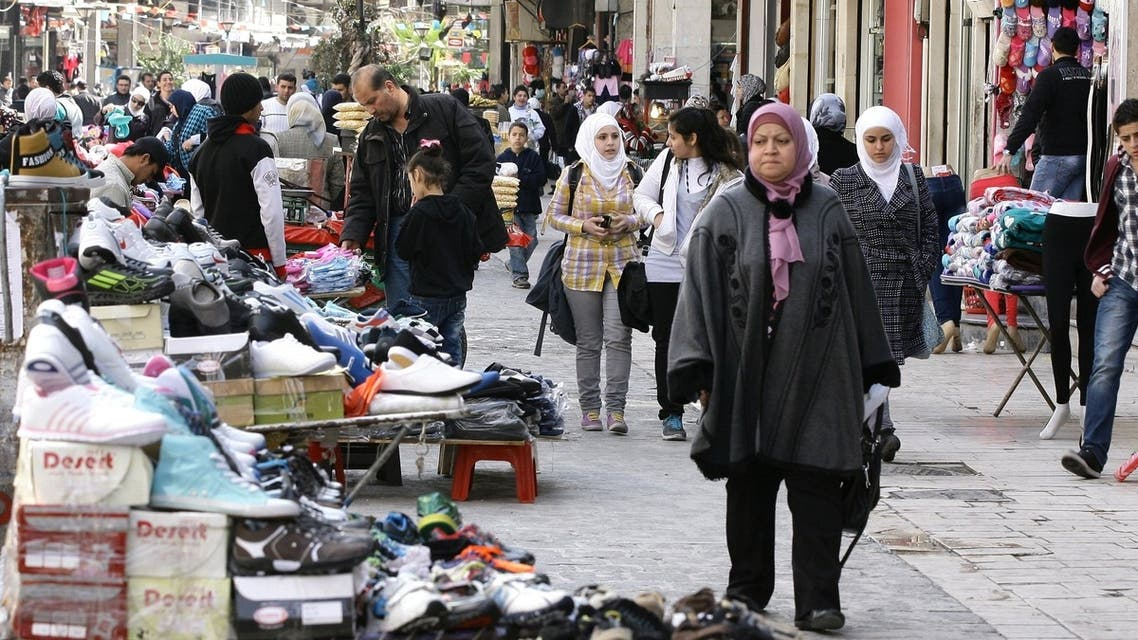 Syria people market place