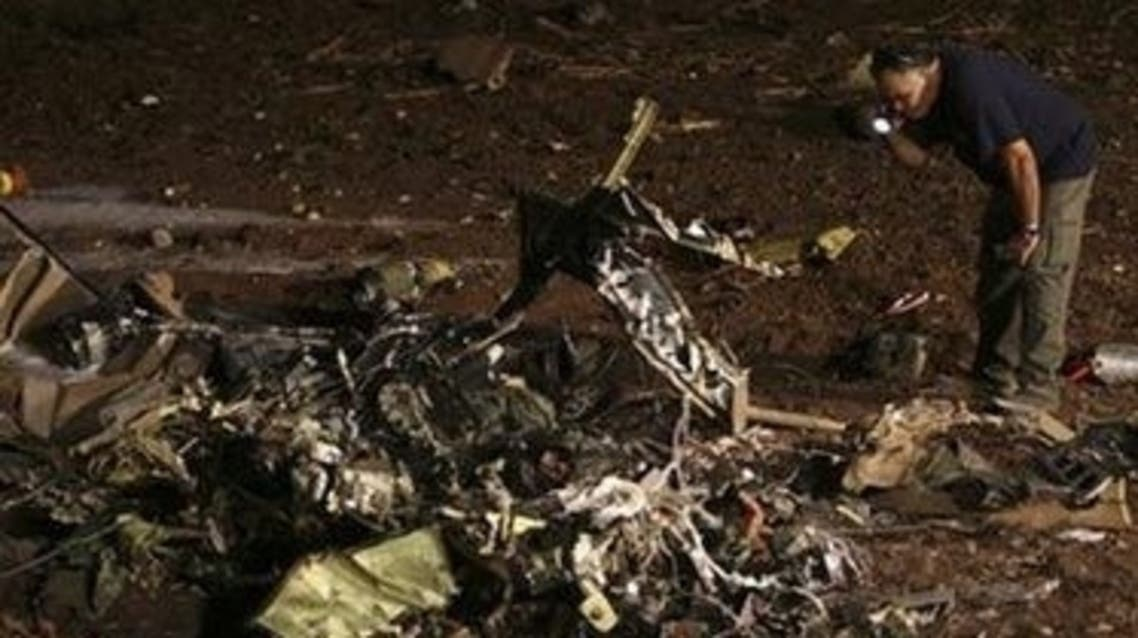 تحطم طائرة إسرائيلية