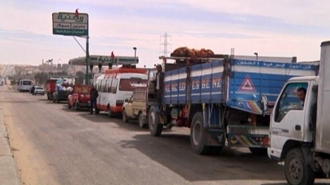 أزمة الوقود في مصر