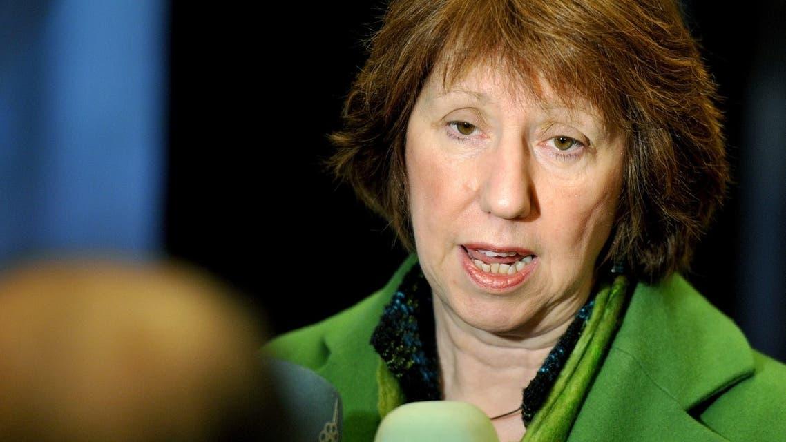 Catherine Ashton EU brussels