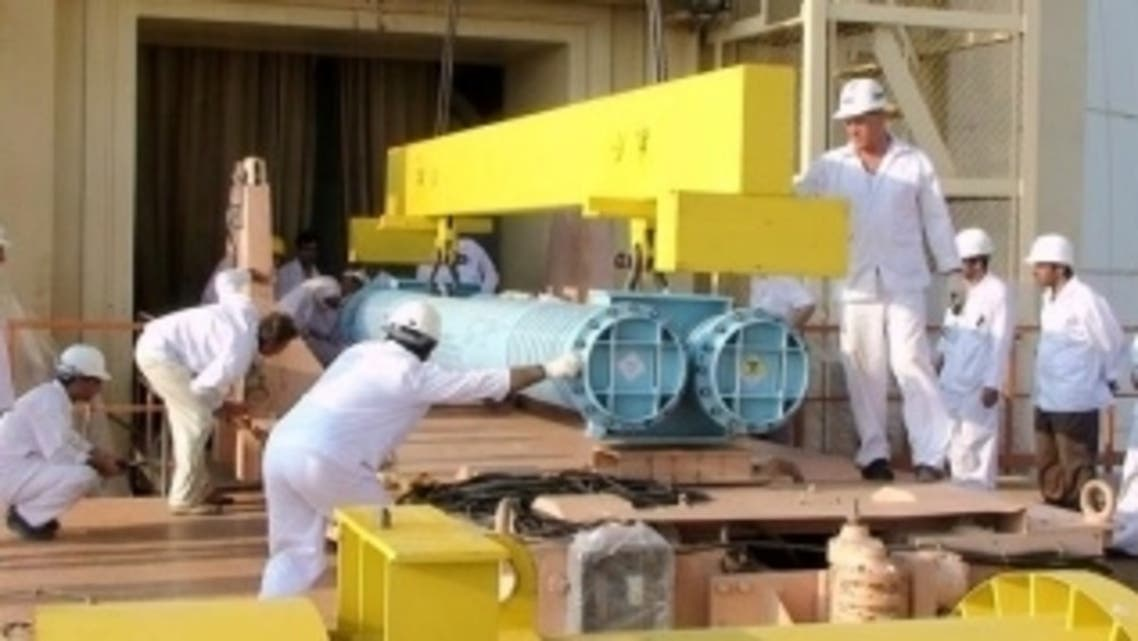 المولدات في مفاعل بوشهر النووي