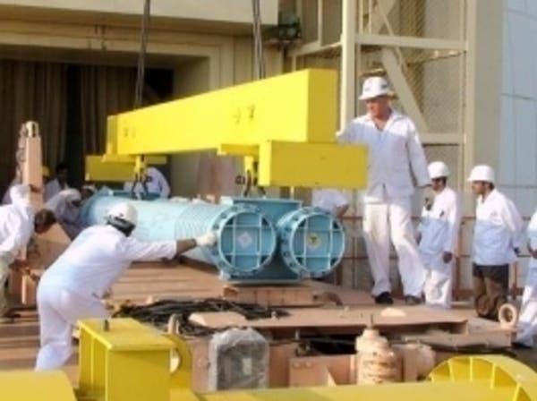 مولدات مفاعل بوشهر النووي الإيراني تتعرض للعطل