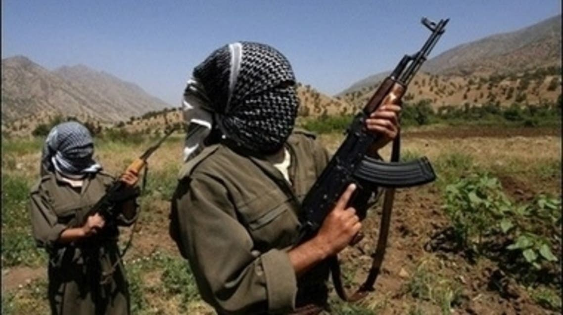 PKK turkey hostages fighters rebels kurds kurdish AFP