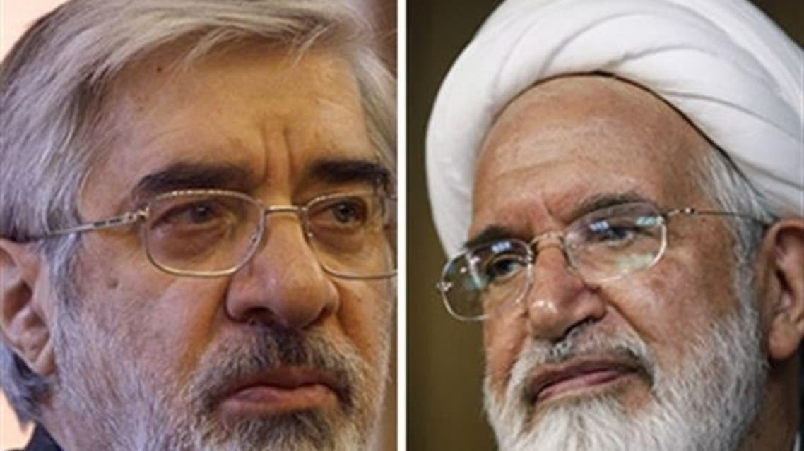 مهدي كروبي و ميرحسين موسوي