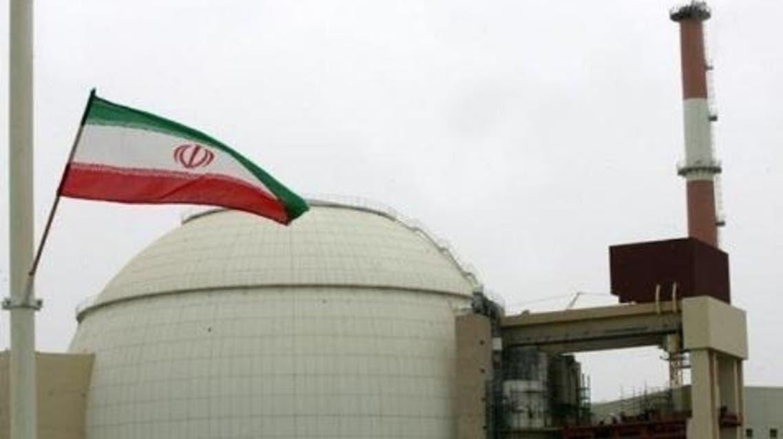 محطة بوشهر النووية تقع على الضفة الشمالية للخليج