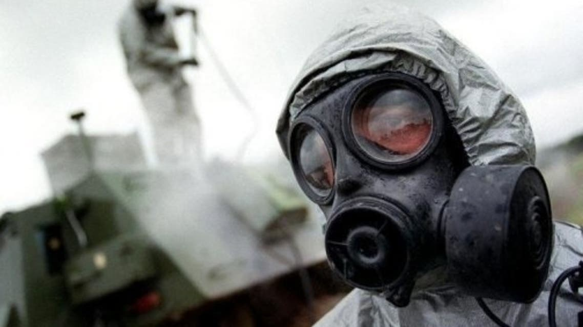 The United States and its allies are trying to keep close track of Syria's arsenal of suspected chemical and biological warfare agents. (AFP)