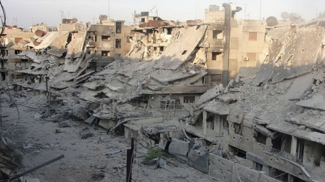 A number of neighborhoods of Homs been devastated by nine months of a suffocating military siege and an escalated week-long campaign to crush the insurgency there. (AFP)