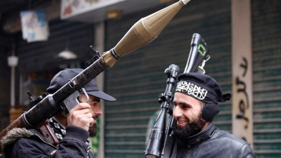 Syria Iran weapons smuggling rebels oppostion fighters