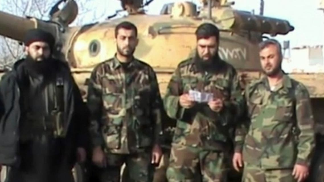 Free Syrian army statement hezbollah killed in Syria's Qusayr