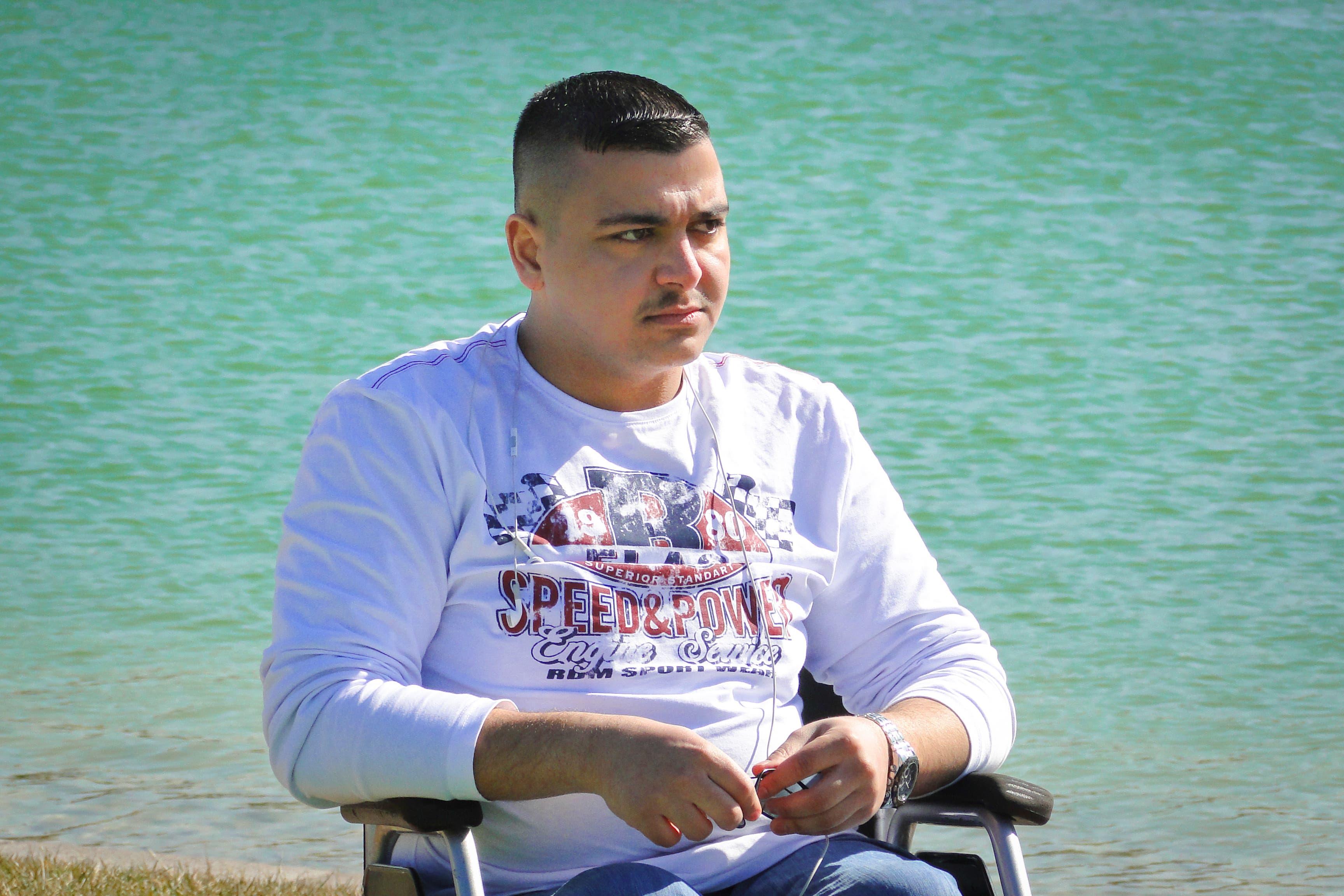 Iraq Shounaz Mekky handicapped Abdaly