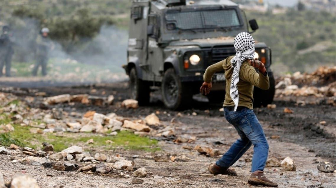 palestine and stones