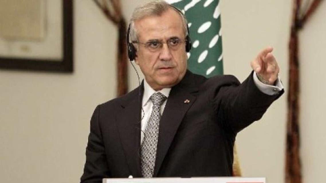 Sleiman Michel Lebanon AFP