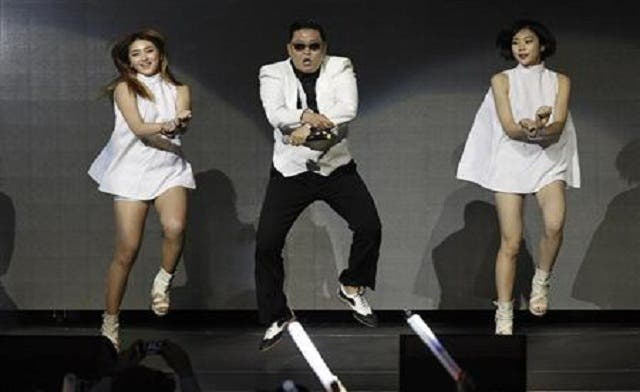 "Korean pop sensation PSY will perform in Dubai in March as part of the three-day festival ""My Music X."" (AFP)"
