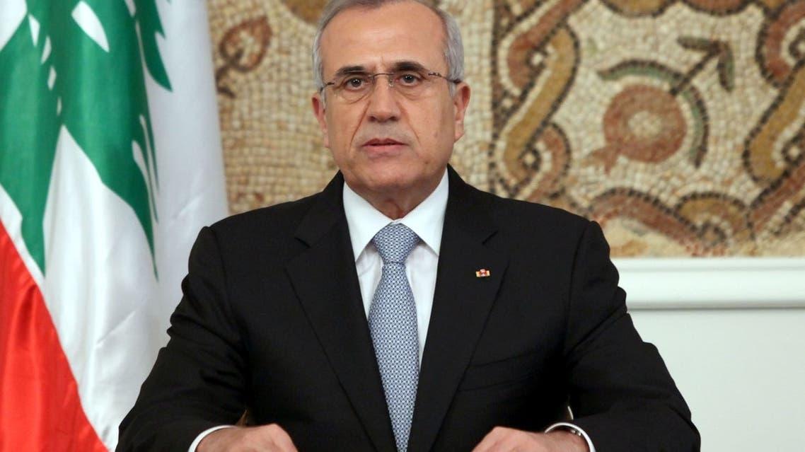 الرئيس اللبناني، ميشال سليمان