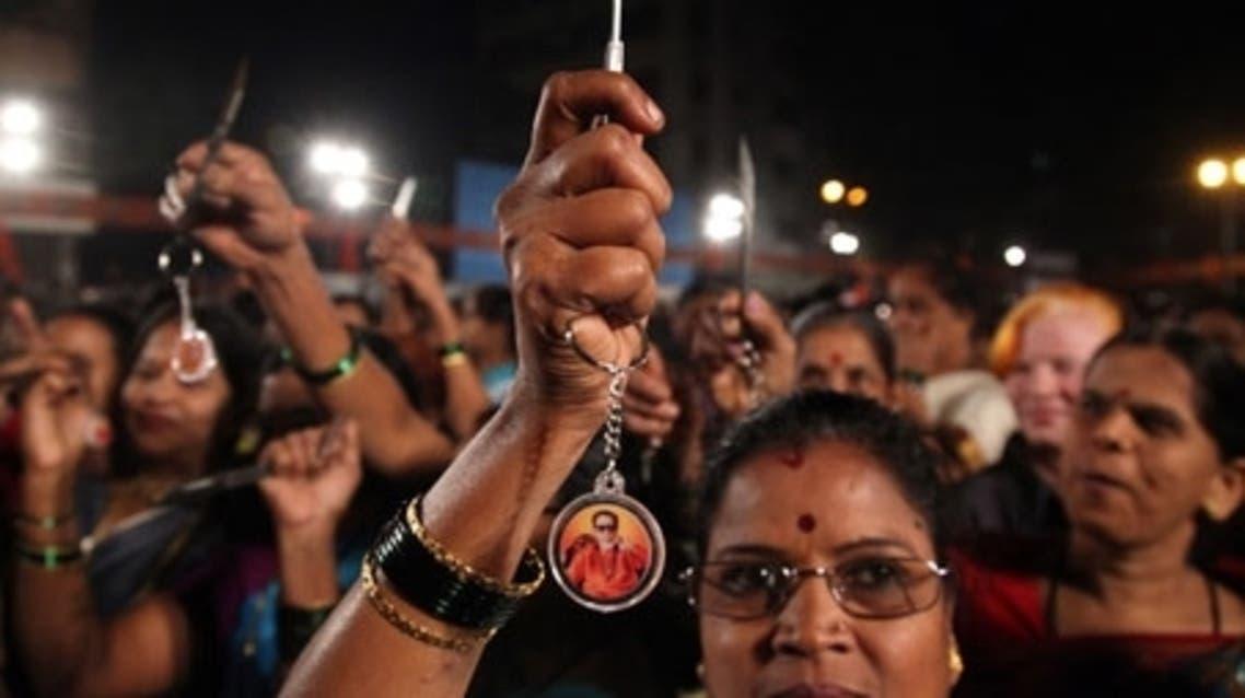 تظاهرة نسائية منددة بالاغتصاب في الهند
