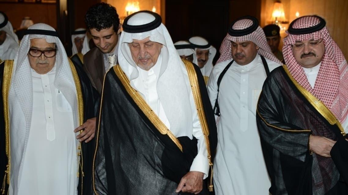 مشعل بن ماجد، خالد الفيصل، صالح كامل