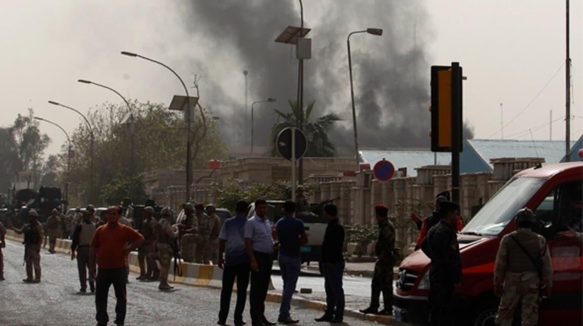 الهجوم على وزارة العدل العراقية أسفر عن سقوط 25 قتيلا