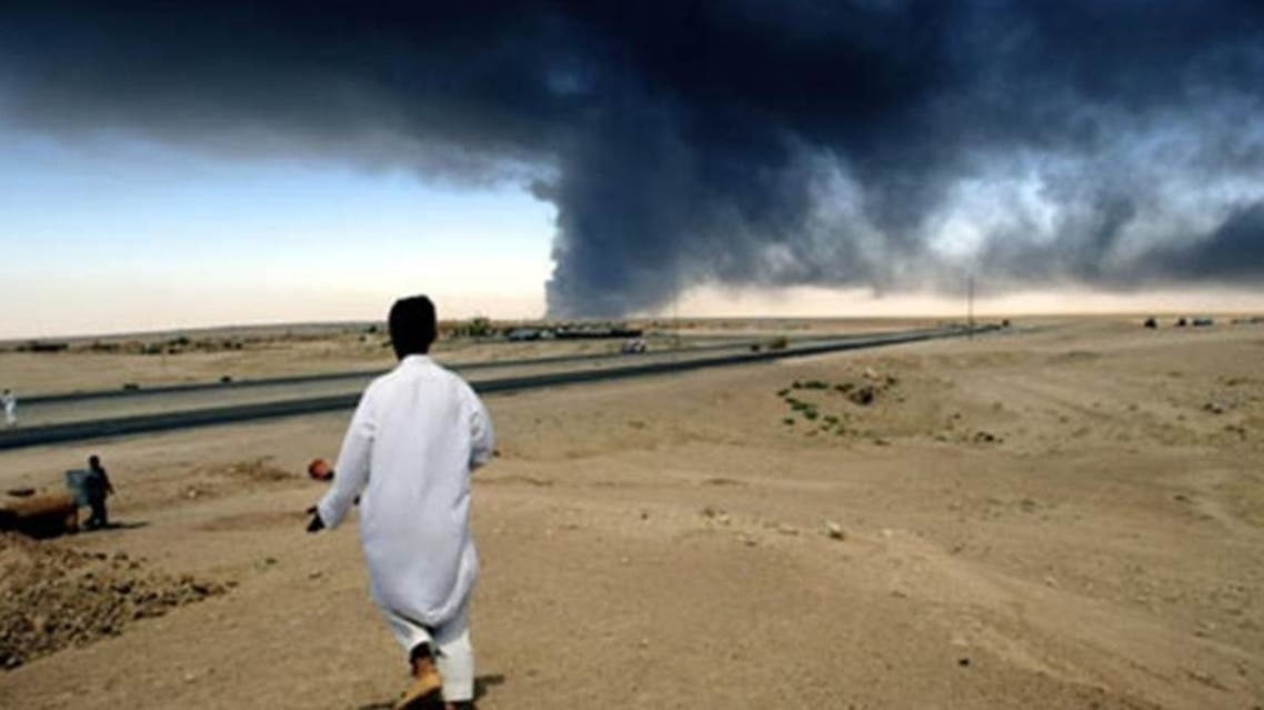How many civilians have been killed in the 10 years since the U.S.-led 2003 invasion of Iraq? (AFP)