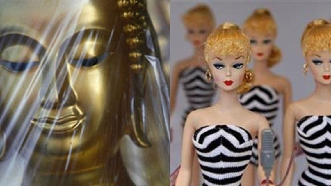 This week, Buddha statues have become the latest in a line of items banished from public sight. (AFP/ Reuters)