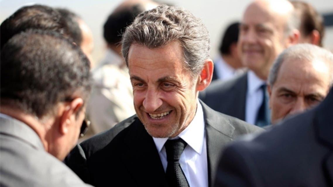 ساركوزي في ليبيا لأول مرة