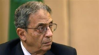 "عمرو موسى: خلافتي للإبراهيمي في سوريا ""تكهنات"""