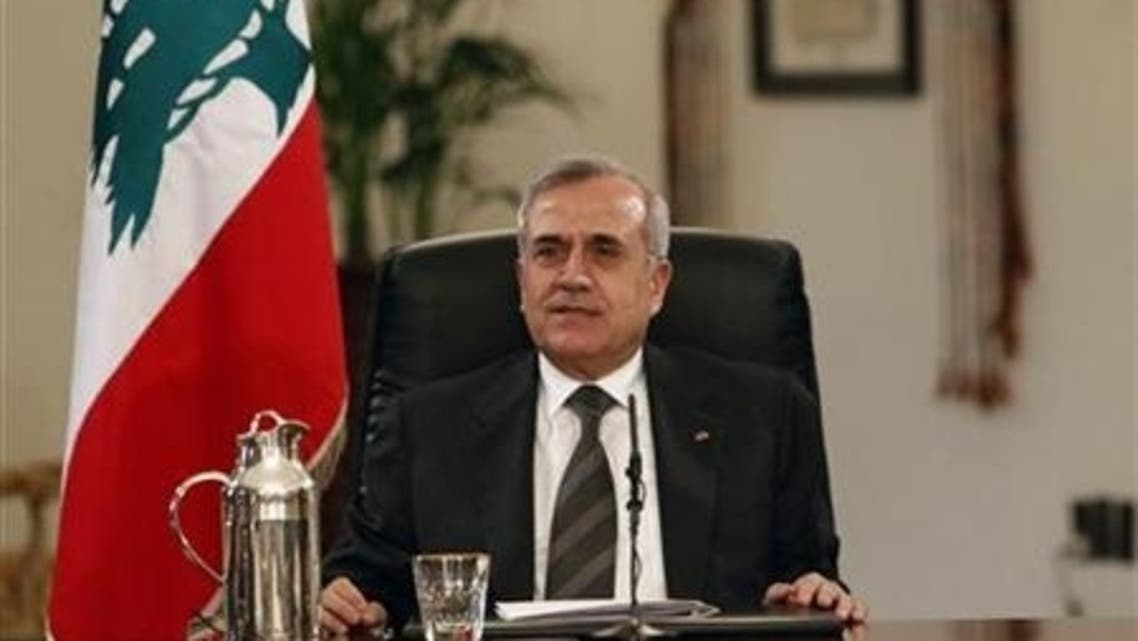 Five shells fired from Syria landed in Lebanon on Wednesday a day after Lebanese President Michel Suleiman said that Syrian strikes on its neighbor were a violation of its sovereignty. (Reuters)