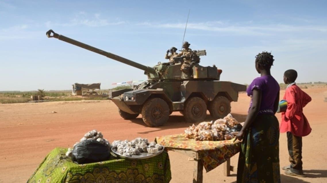 دورية من القوات الفرنسية في مالي