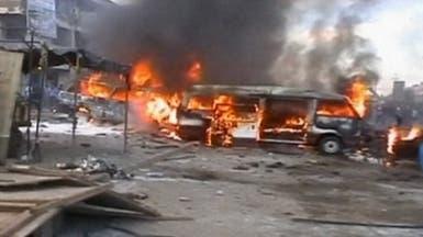 مقتل 14متطوعا للجيش في تفجير استهدفهم غرب بغداد