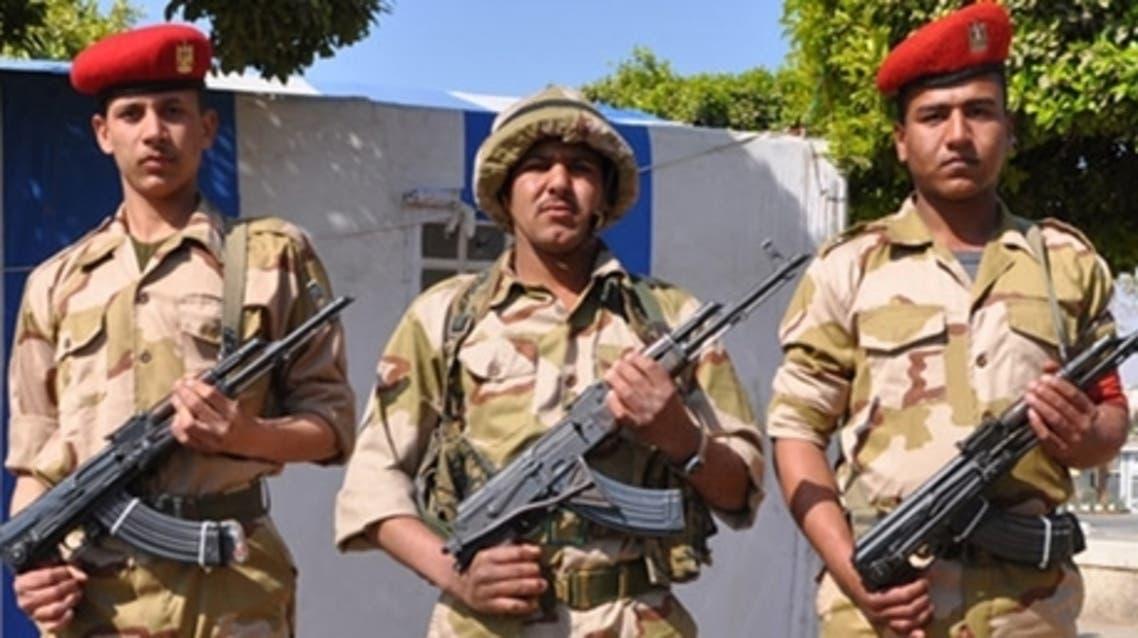 Egypt army uniform