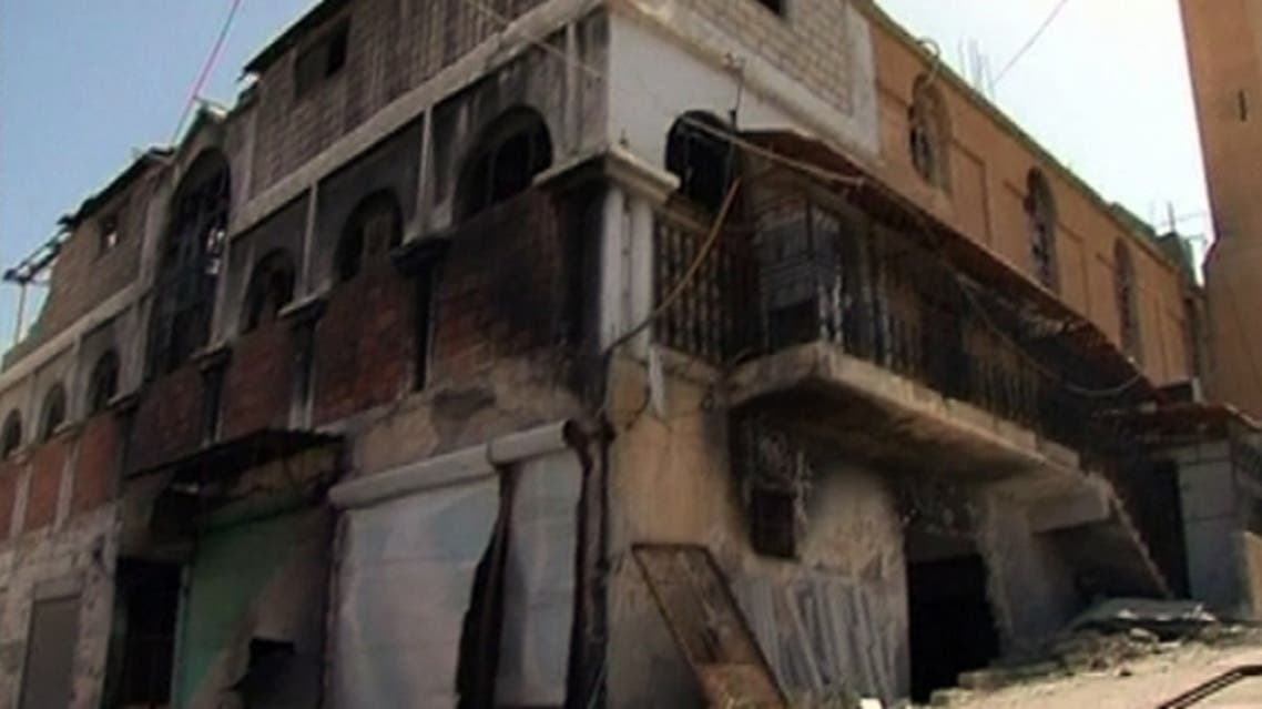 Destroyed buildings and mosques is what is left in Syria's besieged city of Daraa after heavy shelling and ensued fighting between government and opposition forces rocked the city. (Al Arabiya)