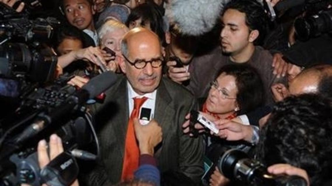 ElBaradei, who was awarded the Nobel Peace Prize for his work at the International Atomic Energy Agency, has participated in the recent protests. (Reuters)