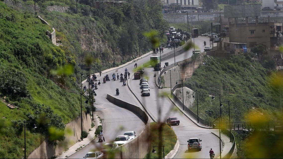 lebanon tripoli bab al tabbaneh fighting AFP