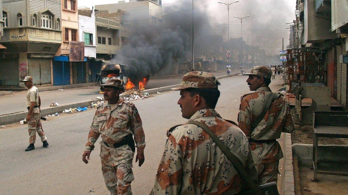 كشته شدن 17 سرباز پاکستانی بر اثر حمله حمله انتحاری در وزیرستان شمالی