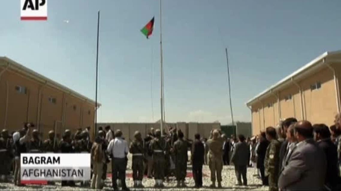 کنترل زندان پایگاه بگرام به افغانستان واگذار شد