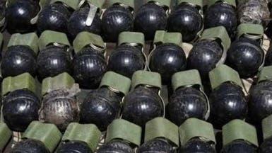 ضبط مخزن للمتفجرات والقذائف المضادة للدبابات بالعريش