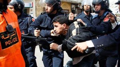 شرطة المغرب تفرق مظاهرة لصحراويين على هامش زيارة روس