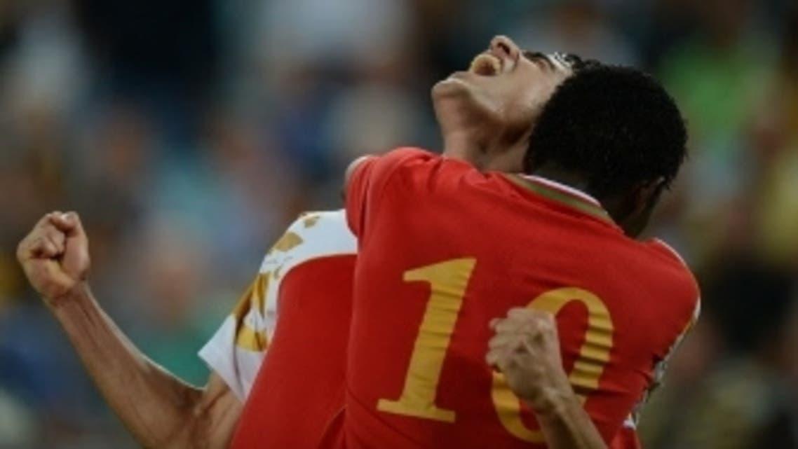 Oman team AFP