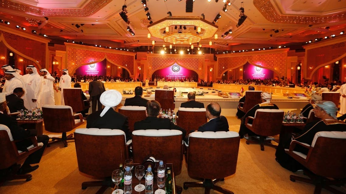 doha conference syrian activists slam regional interference AFP