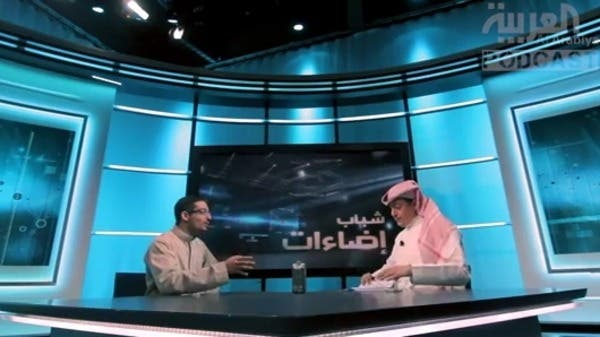 عبدالرحمن مظهر مع تركي الدخيل في حلقة من العربية Something