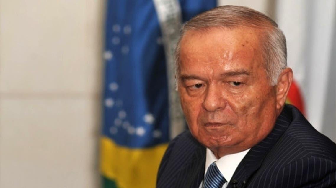 الرئيس الاوزبكي اسلام كريموف